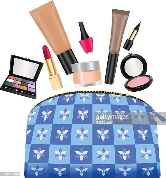 Ladies Purse With Cosmetics