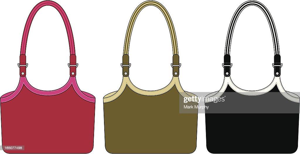 Ladies Shopping Style Shoulder Bag