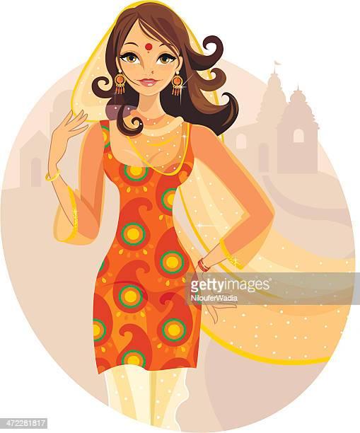 Lady von Indien