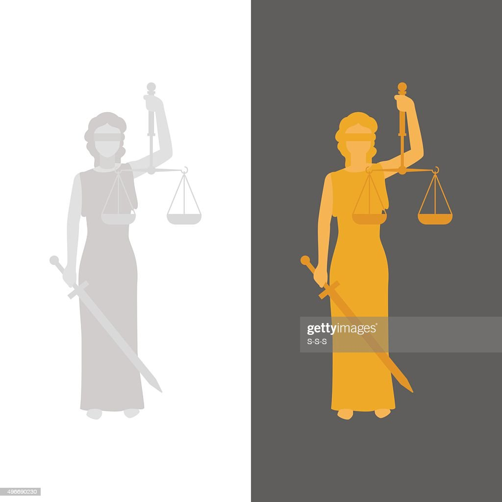 Lady Justice or Justitia