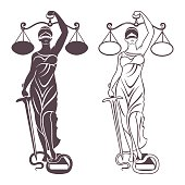 lady justice Themis