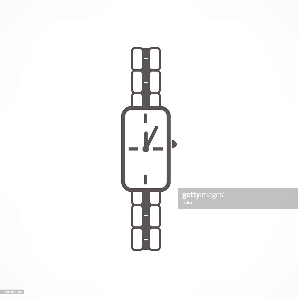 lady watch icon