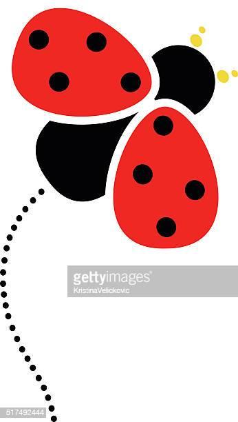 Ladybug design element