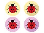 Ladybug Icons