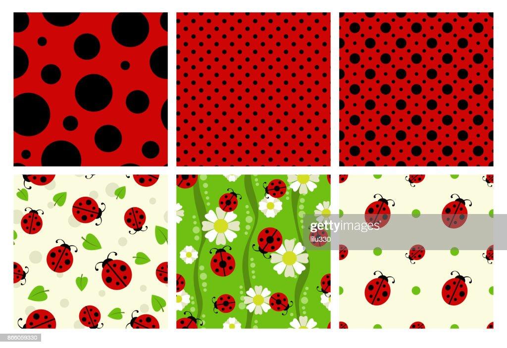 Ladybug patterns set