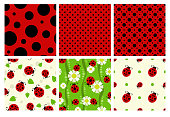 Ladybug patterns set