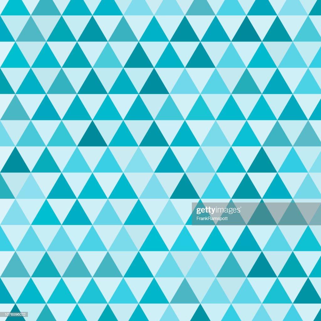 See-gleichseitigen Dreieck Vektormuster : Vektorgrafik