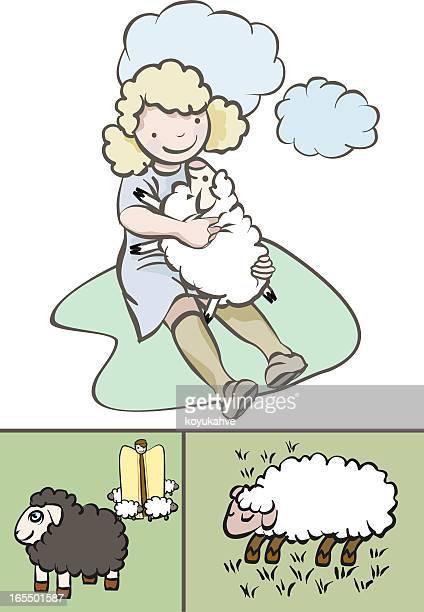 Lamm und sheperd