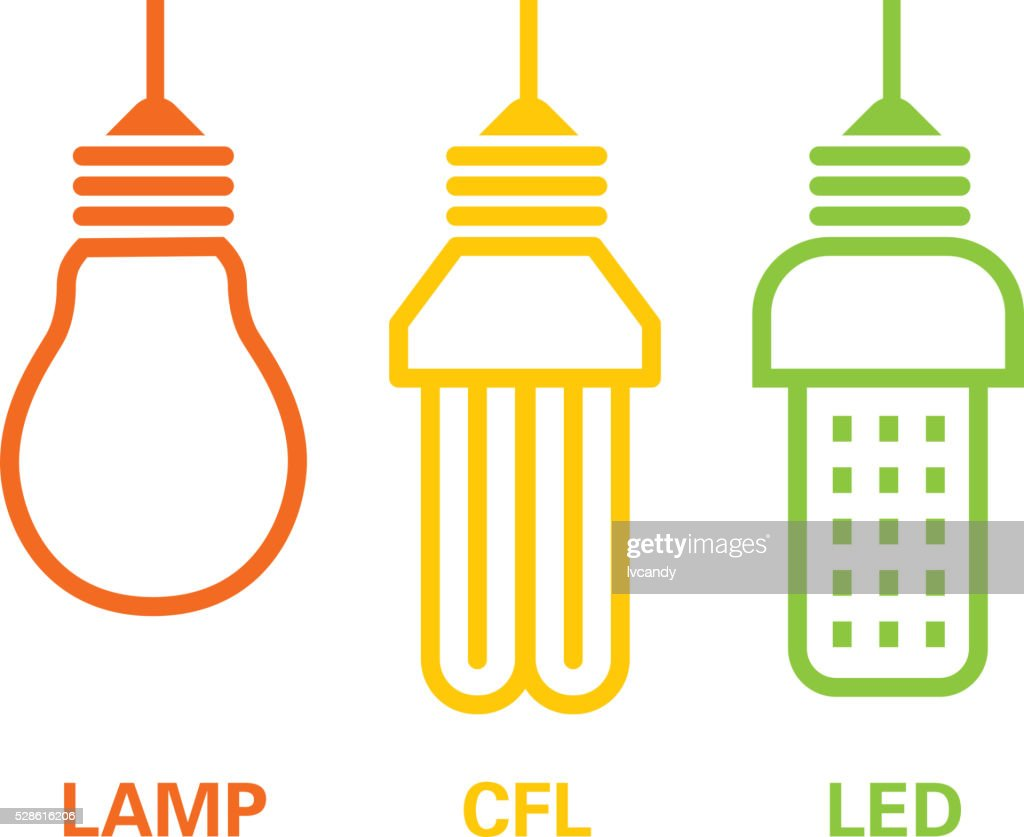 Lamp, cfl and led