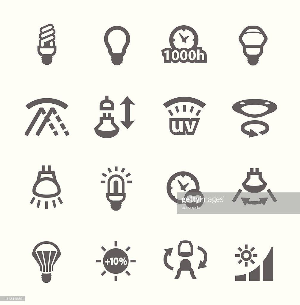 Lamp indicators