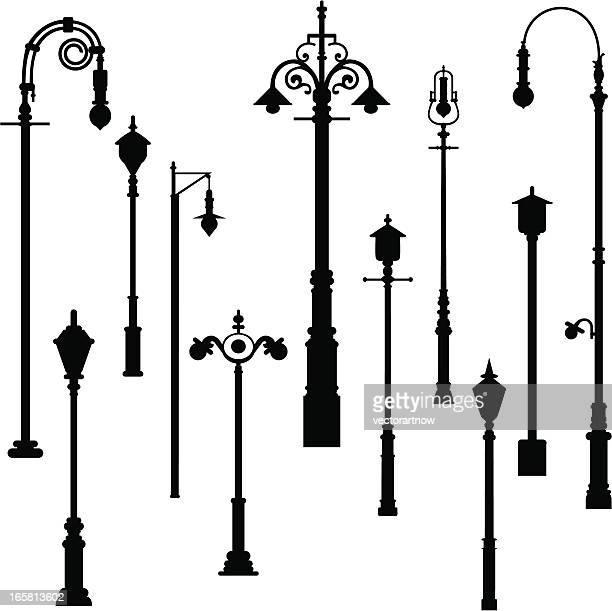 Lámpara de poste luz