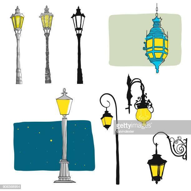Postes de lámpara