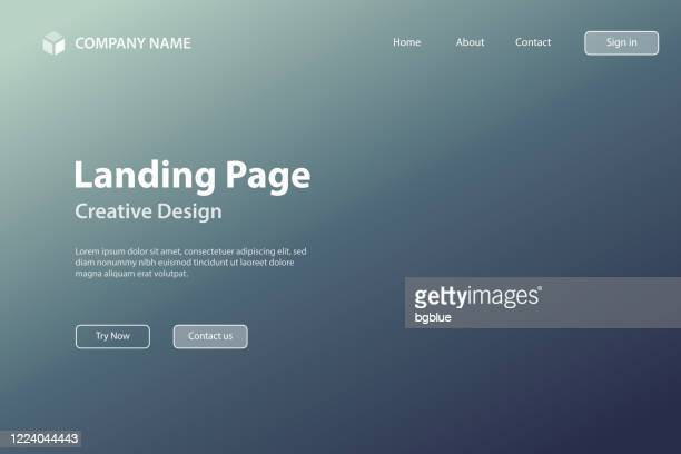 landing page template - abstract blurred background - defocused gray gradient - landing page stock illustrations