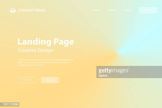 landing page template - beige abstract background with radial gradient - beige background stock illustrations