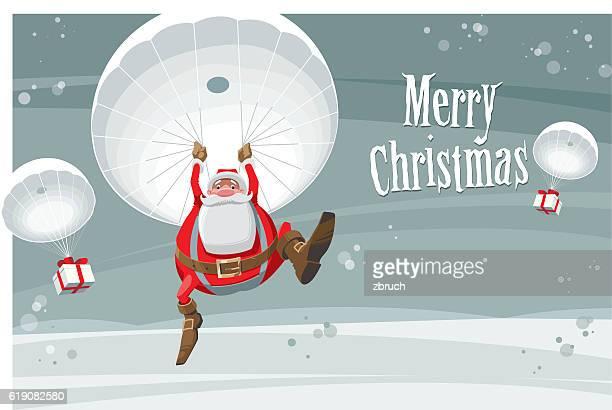 Landing Santa