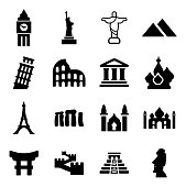 Landmarks Of The World Icons