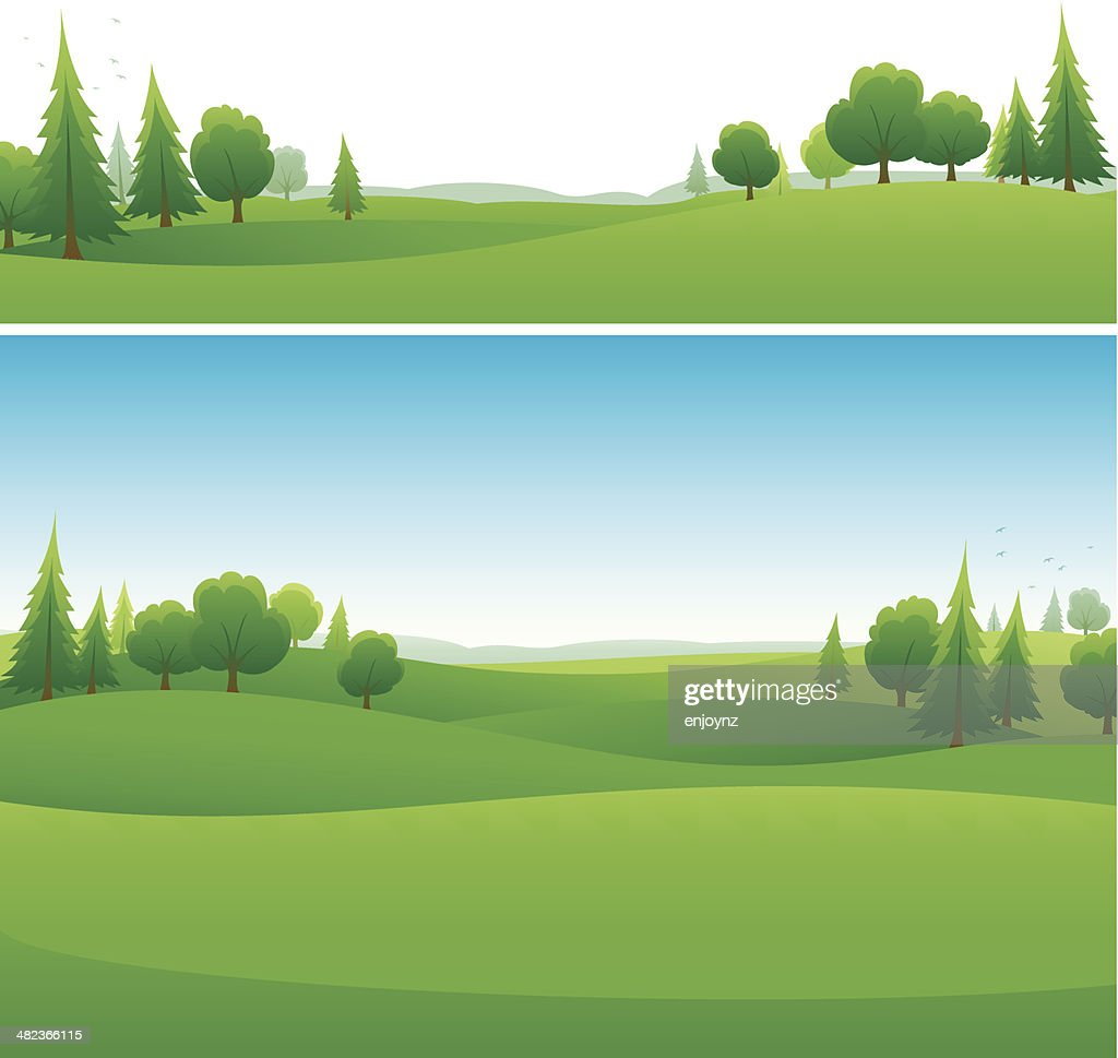Landscape background designs