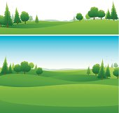 Landscape background designs