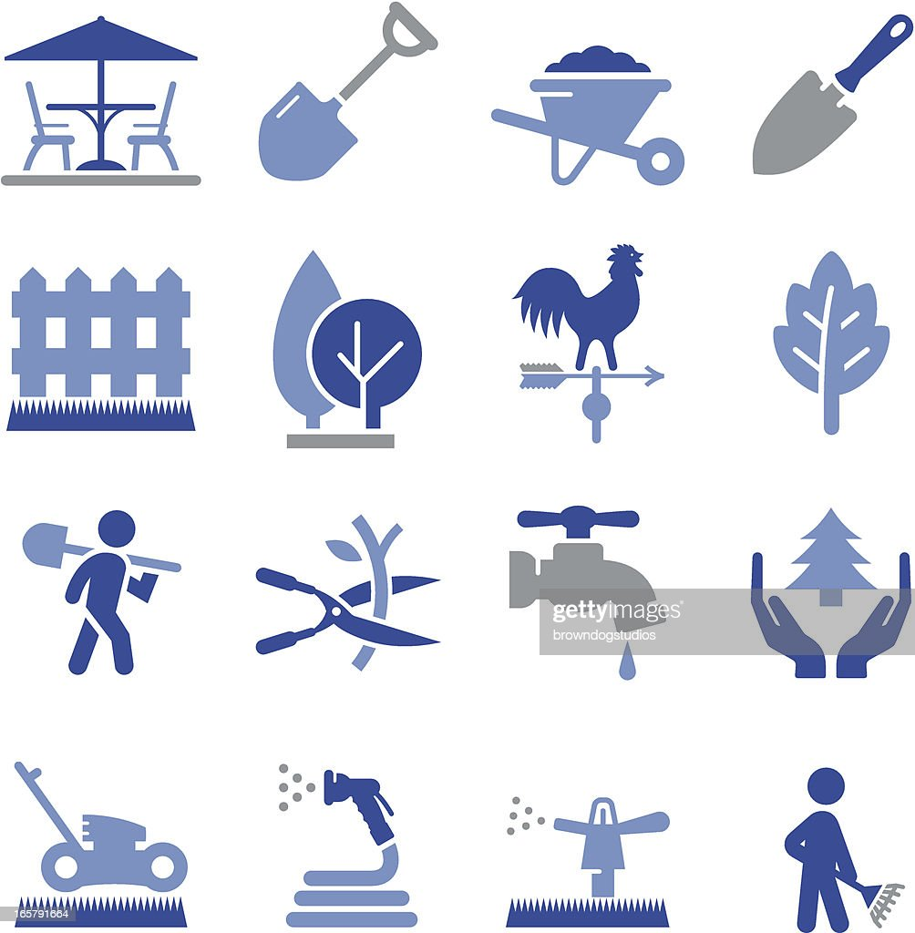 Landscaping Icons - Pro Series