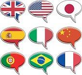 Language Bubbles