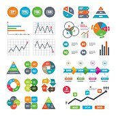 Language icons. JP, TR, GR and GB translation
