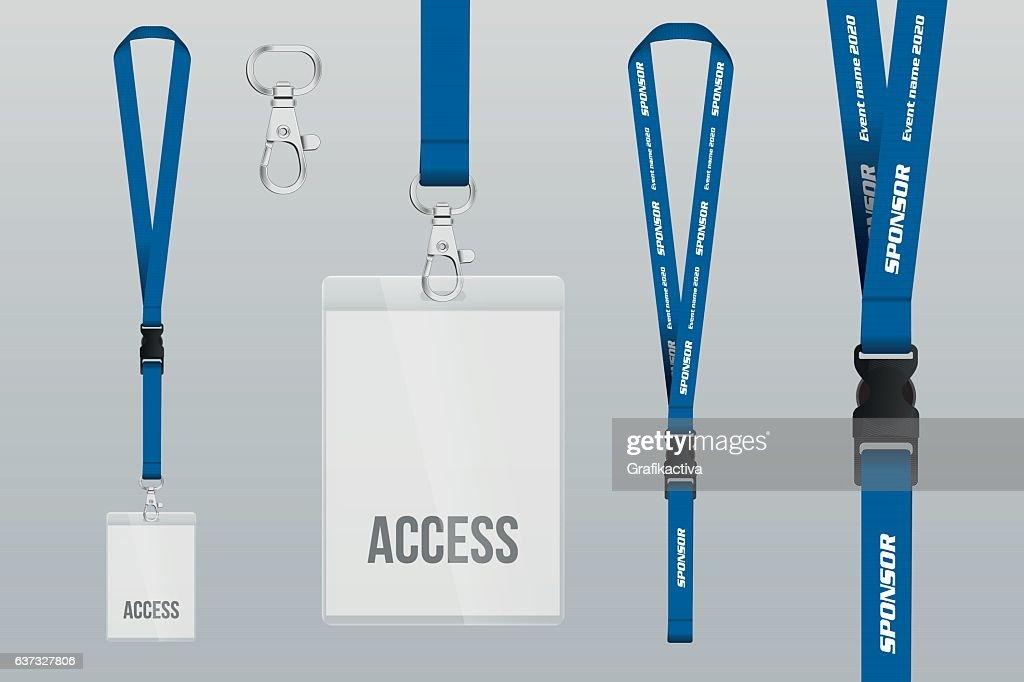 Lanyard and badge