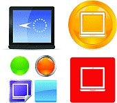 Laptop Computer Vector Icons