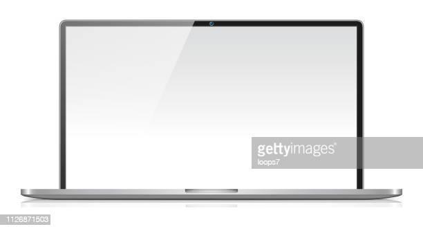laptop - wide screen stock illustrations