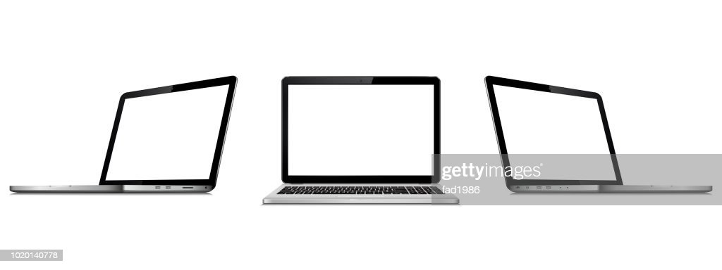 Laptops mock up