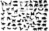 Large Animal Silhouette Collection