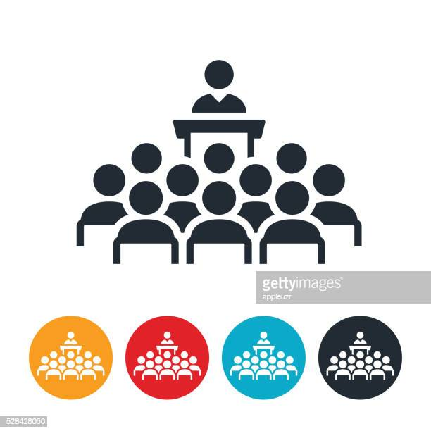 Large Business Group Meeting Icon