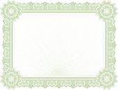 Large Certificate - Diploma (GREEN VARIANT)