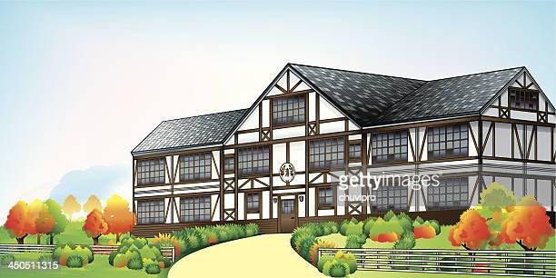 Large mansion in English style