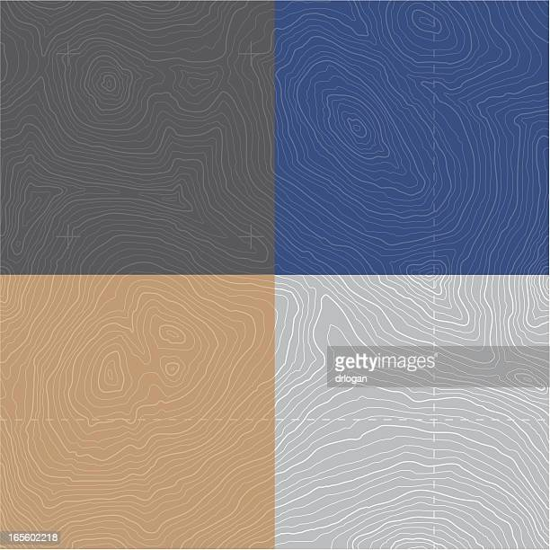 large seamless topographic map - cartography stock illustrations