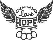 """Last hope"" vector illustration"