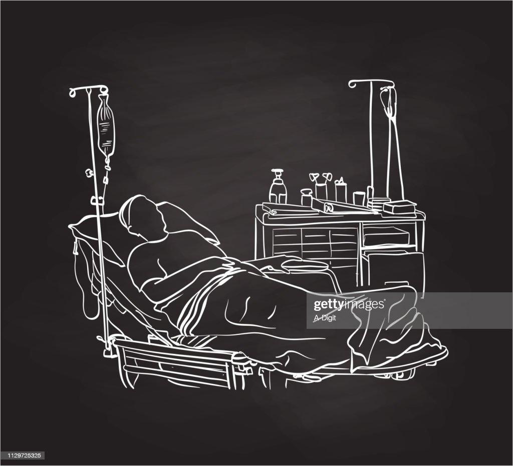 LastBreathHospital : stock illustration