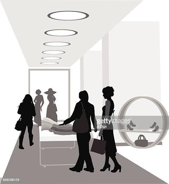 ilustraciones, imágenes clip art, dibujos animados e iconos de stock de latesttrend - boutique
