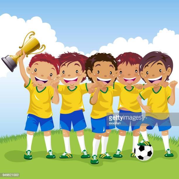 Latin American Soccer Team