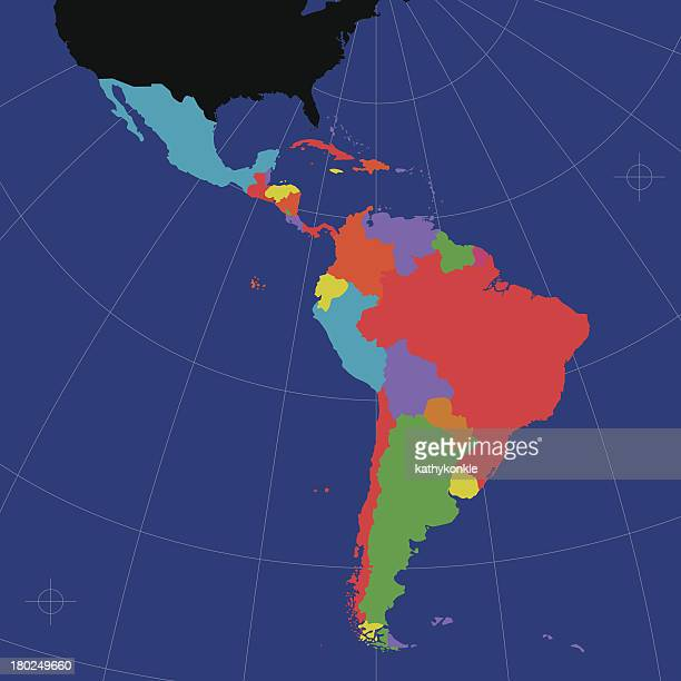 latin and south america - latin america stock illustrations, clip art, cartoons, & icons
