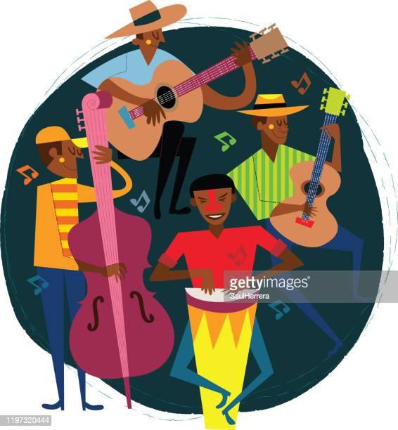 ラテン・ミュージシャン - ラテン音楽点のイラスト素材/クリップアート素材/マンガ素材/アイコン素材