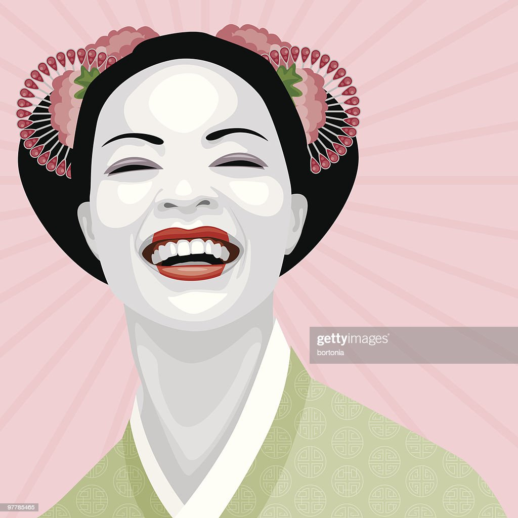 Laughing Geisha