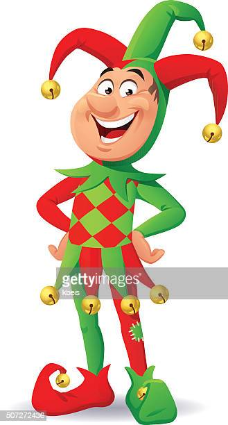 laughing jester - fool stock illustrations, clip art, cartoons, & icons