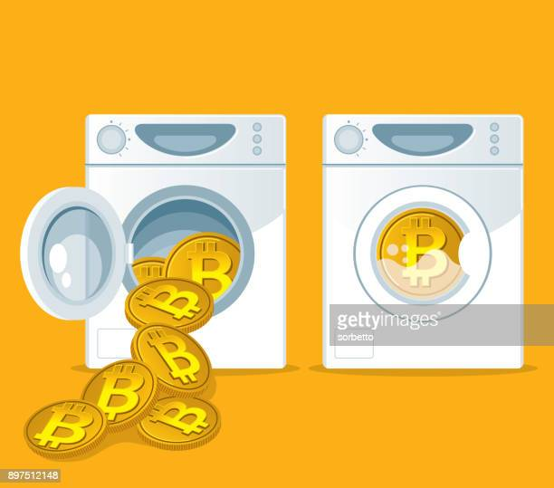 Laundering of Bitcoin in washer