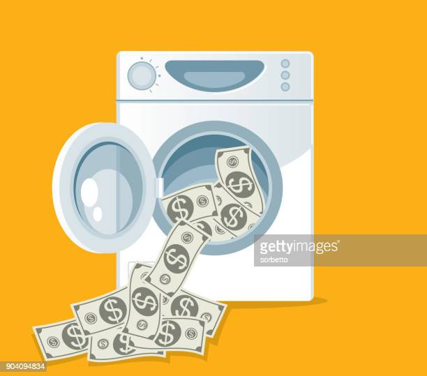 laundering of currency - prisoner vector stock illustrations