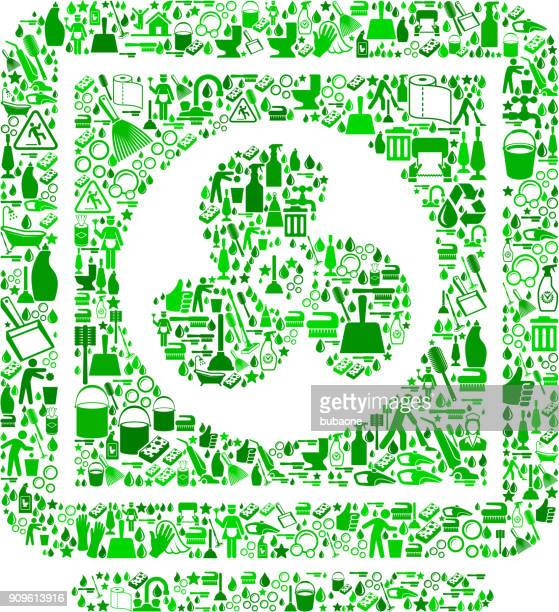 laundry machine  cleaning background pattern - paper towel stock illustrations, clip art, cartoons, & icons
