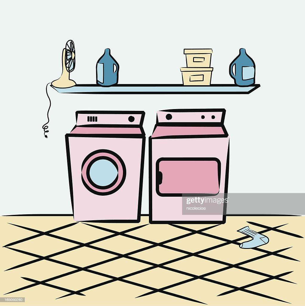 Laundry Room Clip Art