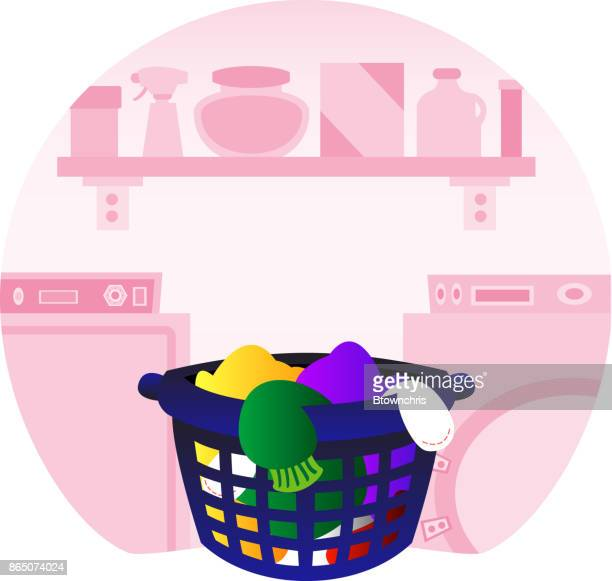 laundry room - laundry detergent stock illustrations, clip art, cartoons, & icons