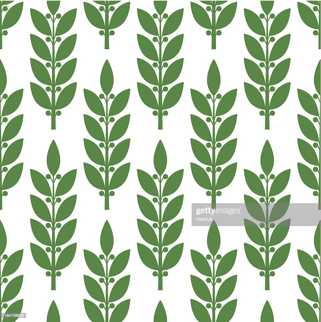 laurel seamless pattern