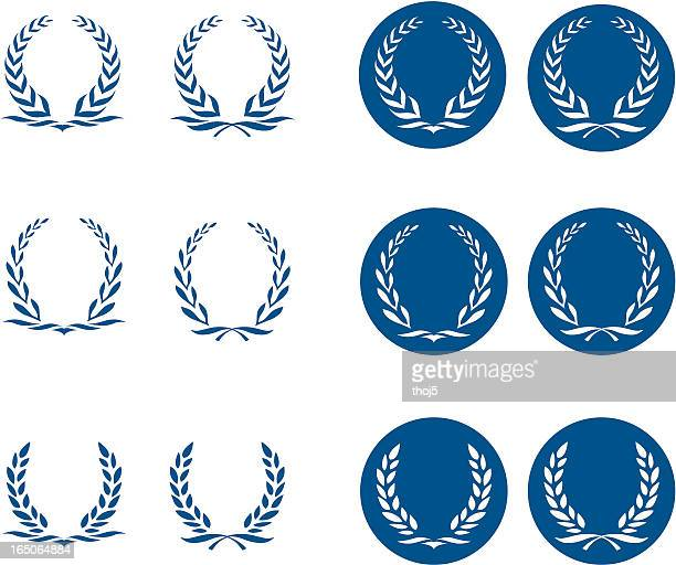 Laurel Wreath Logos