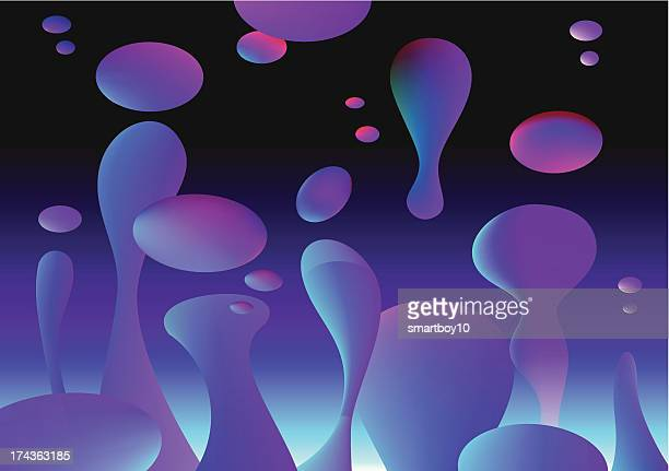 lava lamp background - lava stock illustrations, clip art, cartoons, & icons